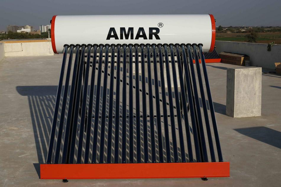 Amar Solar Water Heaters Amar Energy Industries Morbi